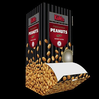 Tower to fill with little bags of peanuts