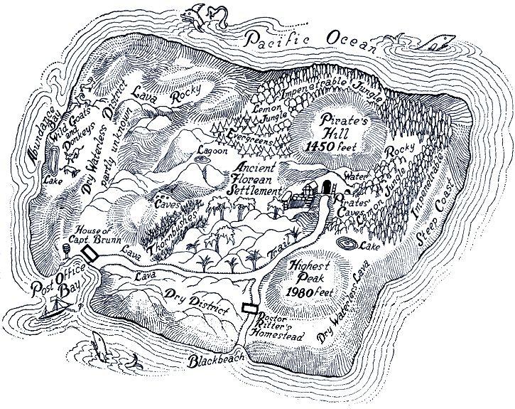 Robinson Crusoe's Island. Robinson Crusoe's Island.