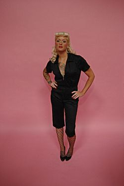 The All Lady Mechanic Jumpsuit Made in the USA