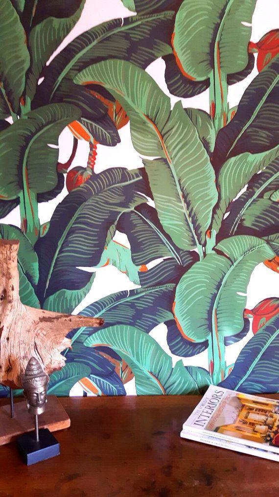 Nouveau Papier peint feuille de bananier par WALLPAPERS4BEGINNERS