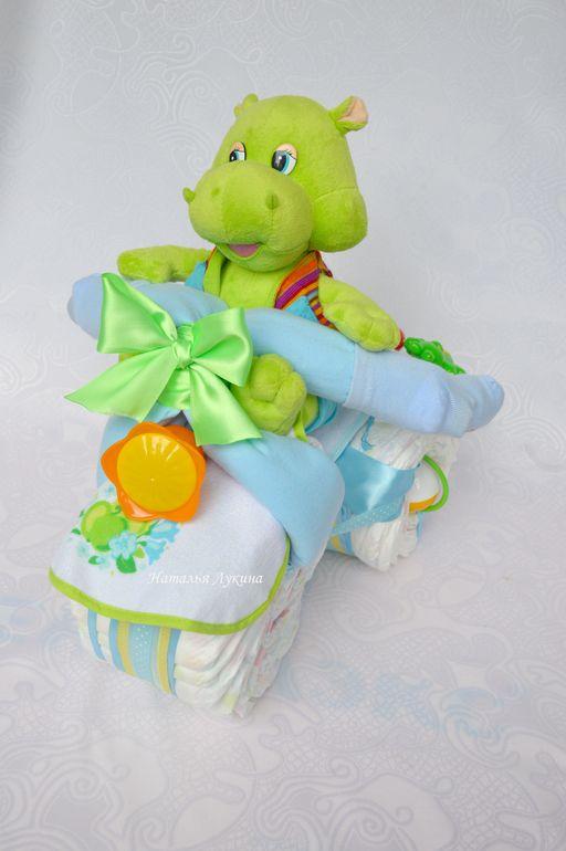 Подарки для новорожденных, торты из подгузников (не продажа!) - Сообщество «Рукоделие» - Babyblog.ru - рукоделие для новорожденных