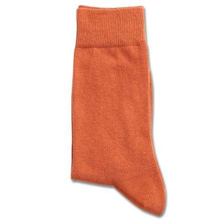 Democratique Socks Originals Solid Burnt Orange