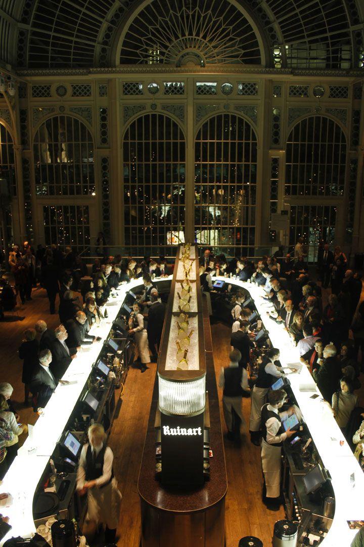 Paul Hamlyn Hall Champagne Bar by B3 Designers London 03 Paul Hamlyn Hall Champagne Bar by B3 Designers, London - WOW