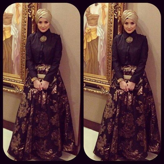 Inneke koesherawati wearing Hauri Collezione/Hauri Blacklabel #indonesia