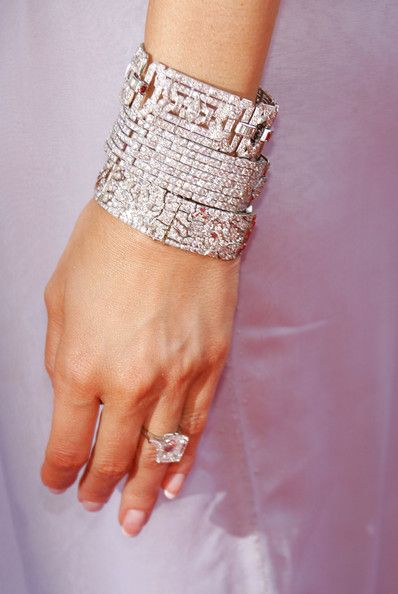 Melania Trump - Melania Trump's bracelet arrives at the 57th Annual Emmy Awards held at the Shrine Auditorium on September 18, 2005 in Los Angeles, California.