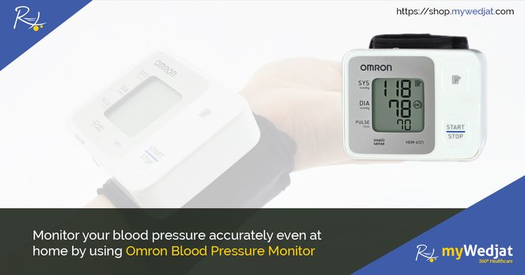 Monitor your blood pressure accurately even at home by using Omron Blood Pressure Monitor. #BloodPressureMonitor #Omron #HealthMonitoringDevice