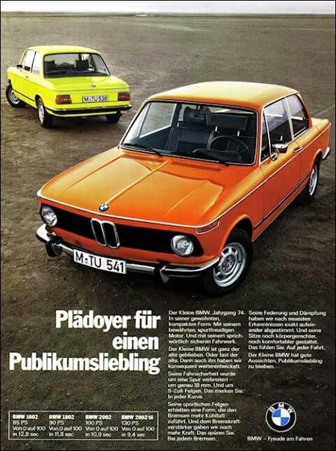 BMW 1602 / 2002 - Werbung
