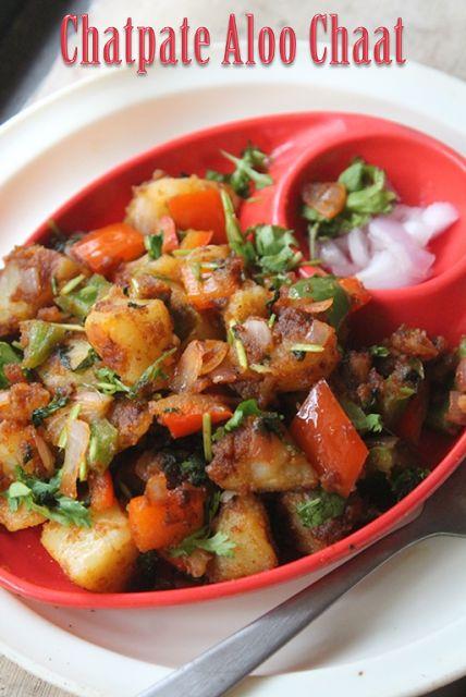 Chatpate Aloo Chaat Recipe - Yummy Tummy