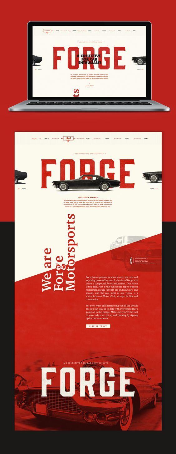 Forge Web Design | Fivestar Branding – Design and Branding Agency & Inspiration Gallery