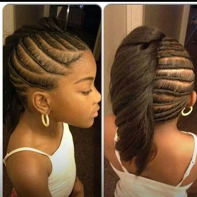 Black Kids Hairstyles Alluring 8 Best Mohawks Hairstyles Images On Pinterest  Natural Updo