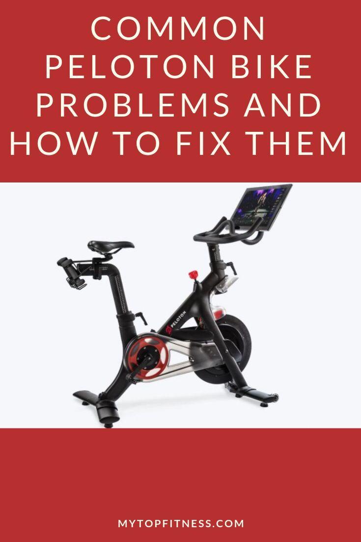 Common Peloton Bike Problems And How To Fix Them Peloton Bike