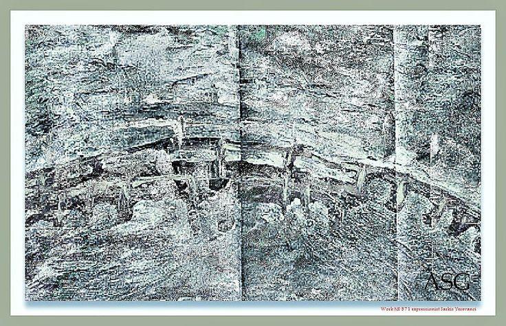 """""""Мост"""" - Изобразительное искусство - Масло, акрил"""