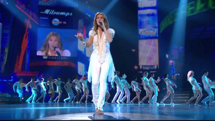 I love this song....Céline Dion - I'm Alive (Live in Las Vegas 2007)