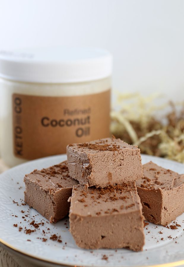 Thick, creamy, and gooey. The greatest keto chocolate fudge that ever came out of my kitchen! Shared via http://www.ketodelivered.com