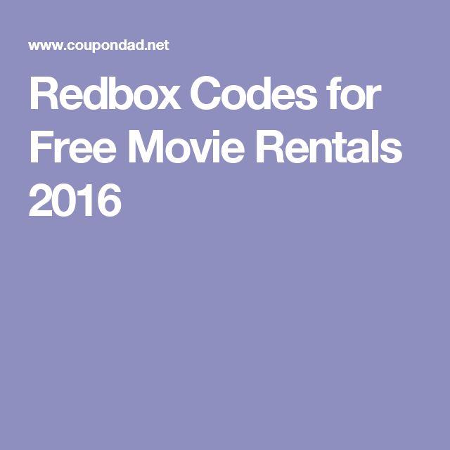 about Promo Codes For Redbox on Pinterest | Redbox movies, Free redbox ...