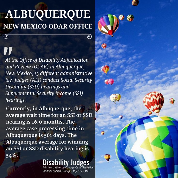 Know the detailed information about the hearing offices and the administrative law judges (ALJ) that work in ALBUQUERQUE, NEW MEXICO Visit: https://www.disabilityjudges.com/state/new-mexico/albuquerque #ALBUQUERQUENEWMEXICOODAROffices #AdministrativeLawJudgesALBUQUERQUENEWMEXICO #ALBUQUERQUENEWMEXICODisability #ODAR