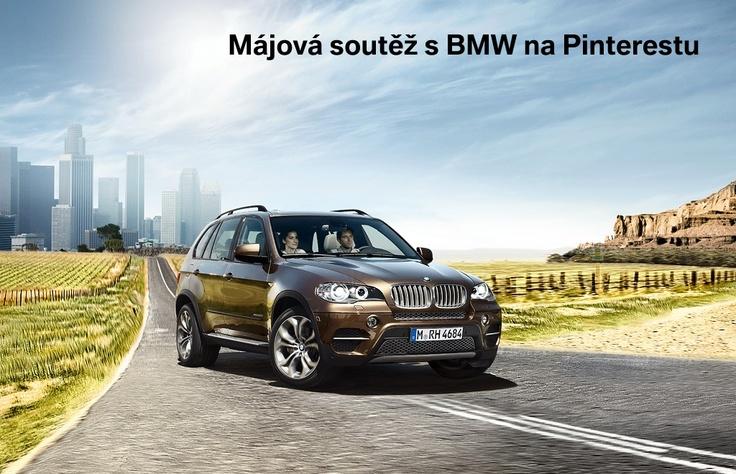 """Sledujte náš účet, nahrajte soutěžní fotku na svůj Pinterest na téma """"BMW + láska"""" a přidejte odkaz na ni jako komentář! Pro plná pravidla proklikněte fotku na poznámku na naší Facebook stránce!"""