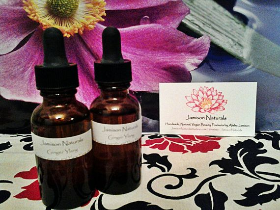 Ginger Ylang All Natural Handmade 30 ml 1 ounce by JamisonNaturals