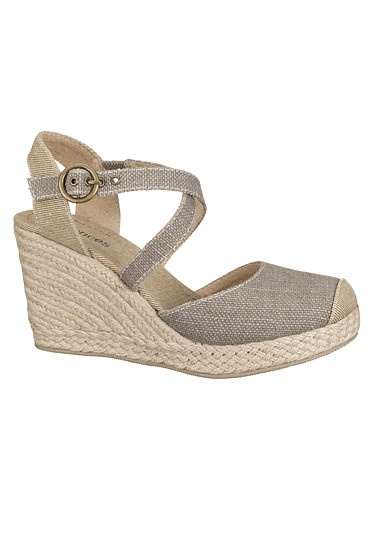 My New Shoes - Allison Closed Toe Wedge