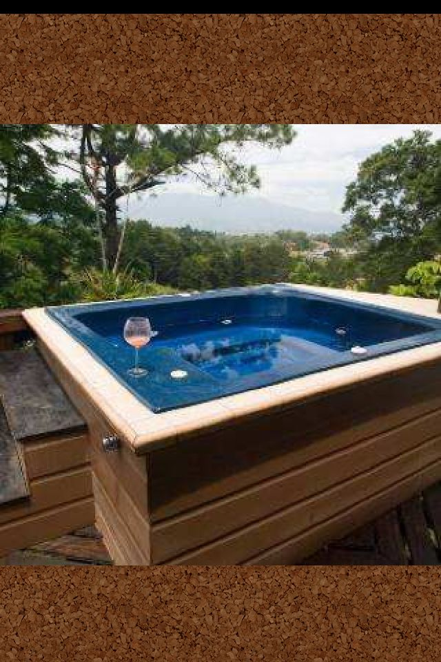 Jacuzzi - when you want some bubbles!!!