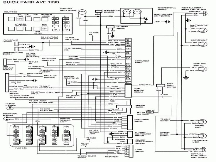 2000 Buick Lesabre Wiring Diagram 3 - Wiring Diagram ...