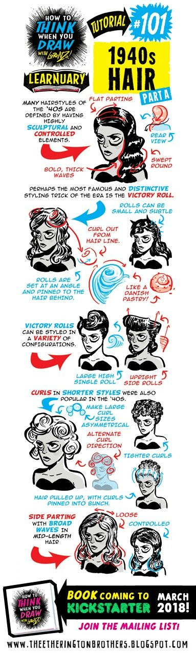 #101 1940s Hair A
