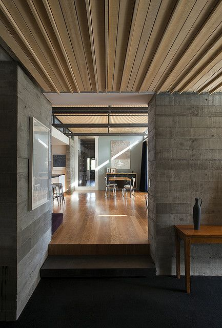 malcolm walker / love the use of different materials to differentiate spaces