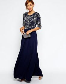 Modest formal party maxi dress with sleeves | Shop Mode-sty #nolayering