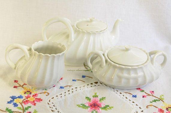 Antique 1800's Haviland Limoges France tea set
