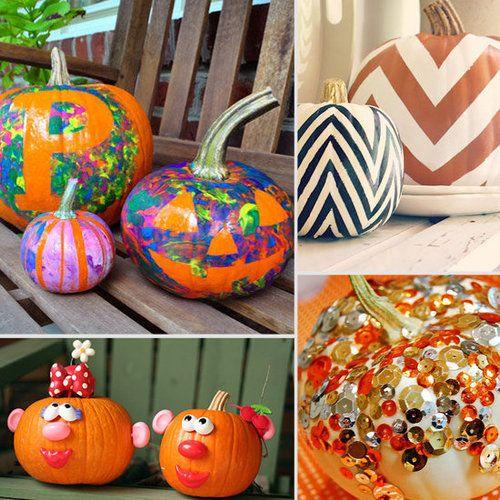 9 No-Carve Pumpkin Ideas For Kids - Circle of Moms