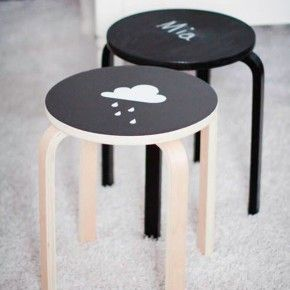 DIY : Customise ton tabouret Frosta
