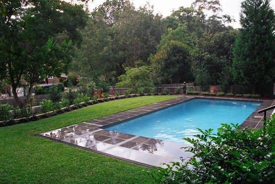 pool landscaping images - Google Search