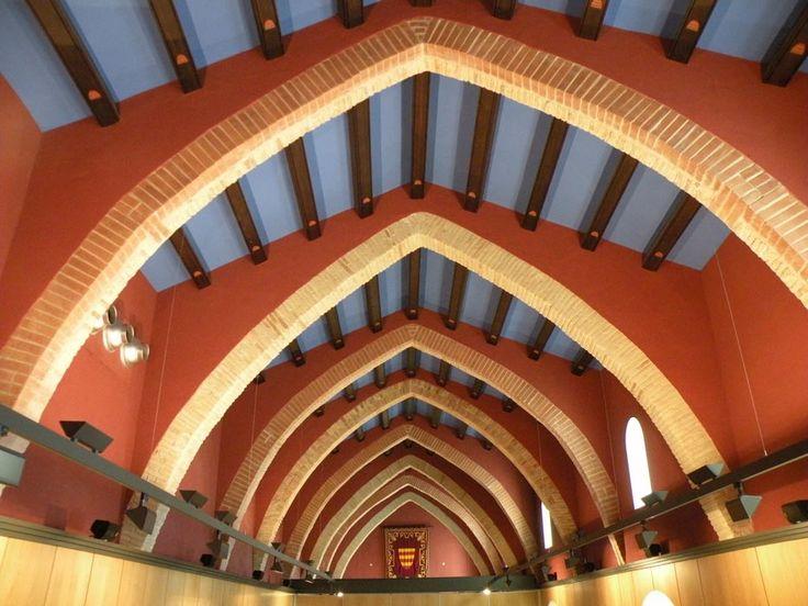 sala gótica del convento de Sant Domênec, Castelló d'Empúries