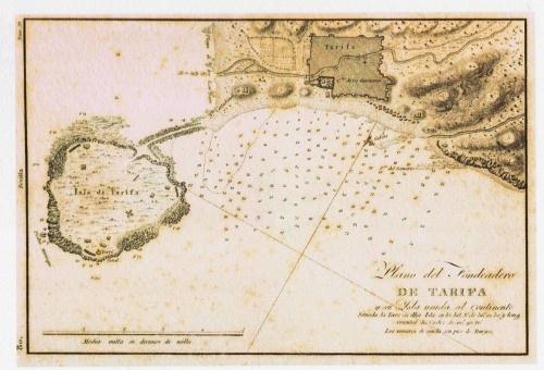 Cartografía histórica del Estrecho de Gibraltar (#Tarifa). http://estrechoverde.wordpress.com/2012/03/20/cartografia-historica-del-estrecho/