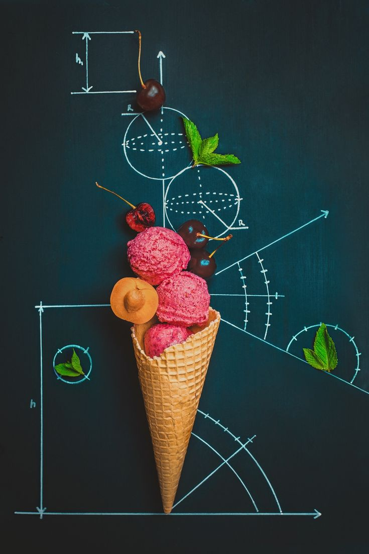 Summer homework - Ice cream geometry