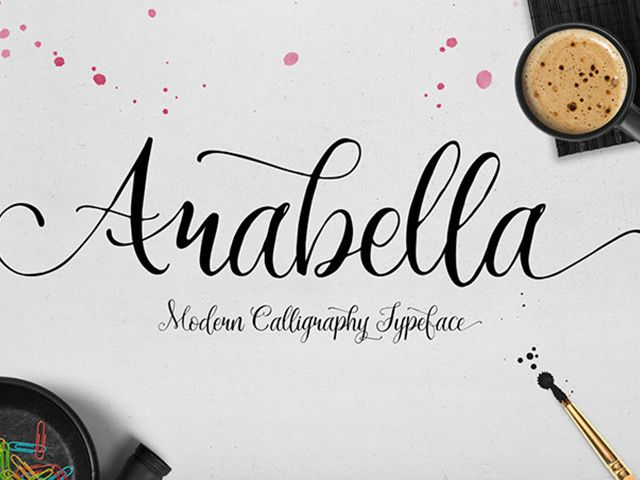 Arabella is a free handwriting font suitable for many different purposes (e.g. headings, signatures, logos, posters). Designed by MySunday Type Foundry.