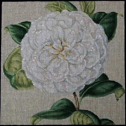 Kirk & Hamilton: Beautiful handpainted needlepoint canvases