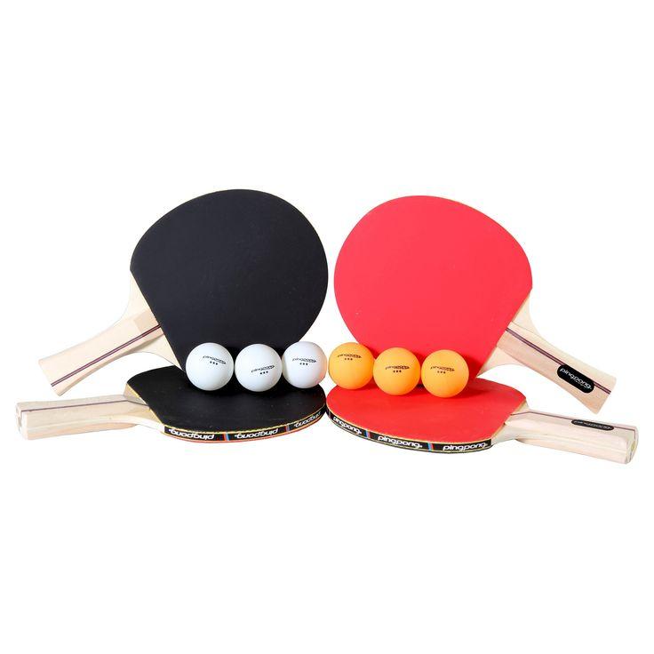 Ping Pong Table Tennis 4 Player Set