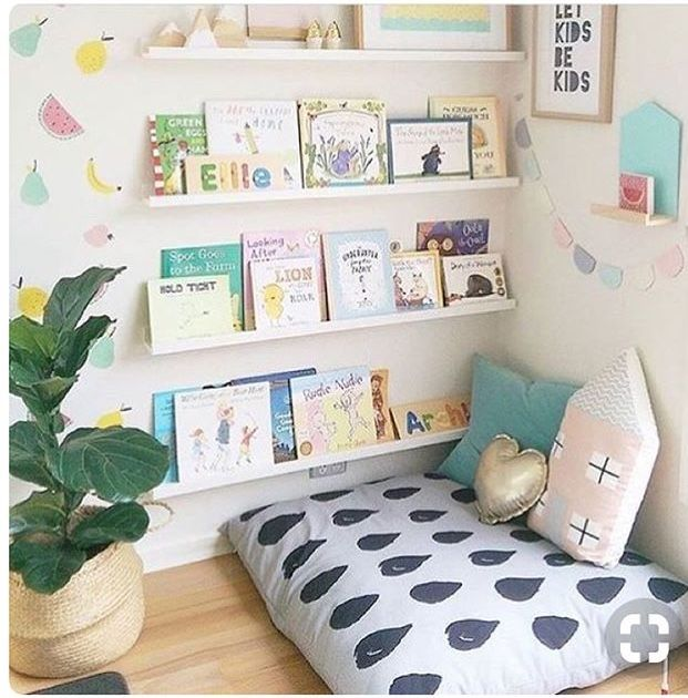 Reading Nooks for Baby | Reading nooks, Playrooms and Kid reading nooks