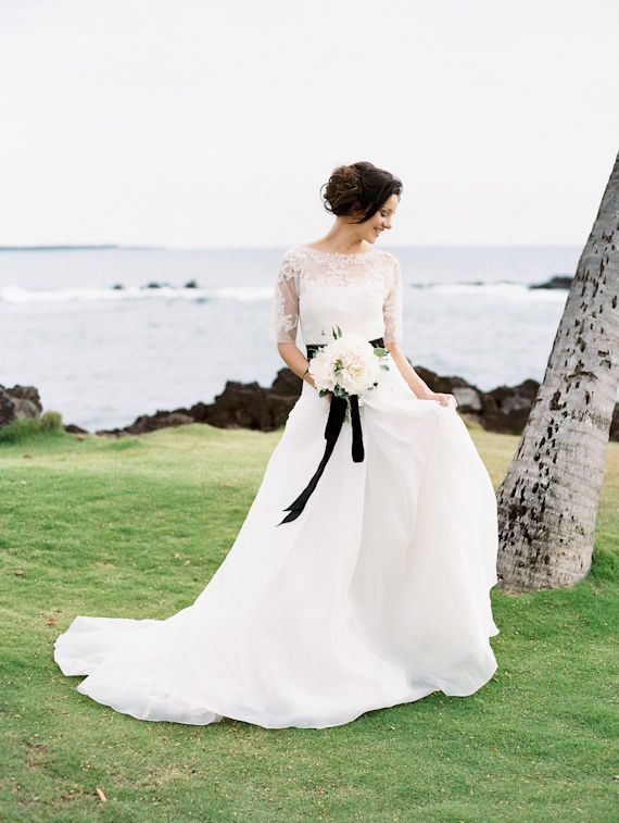 Elegant Maui wedding inspiration | Photos by Wendy Laurel Photography