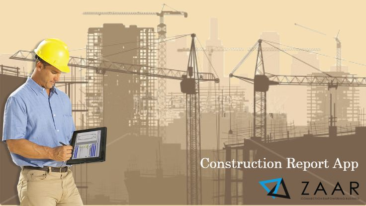 Stop worrying about construction  reporting with papers, zaar gives you a better solution.