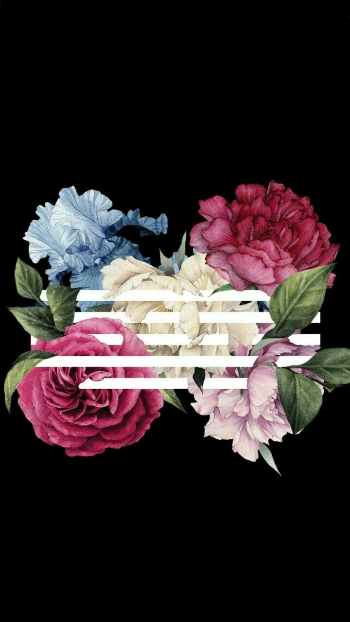 Flower Road Wallpaper Seni Kartun