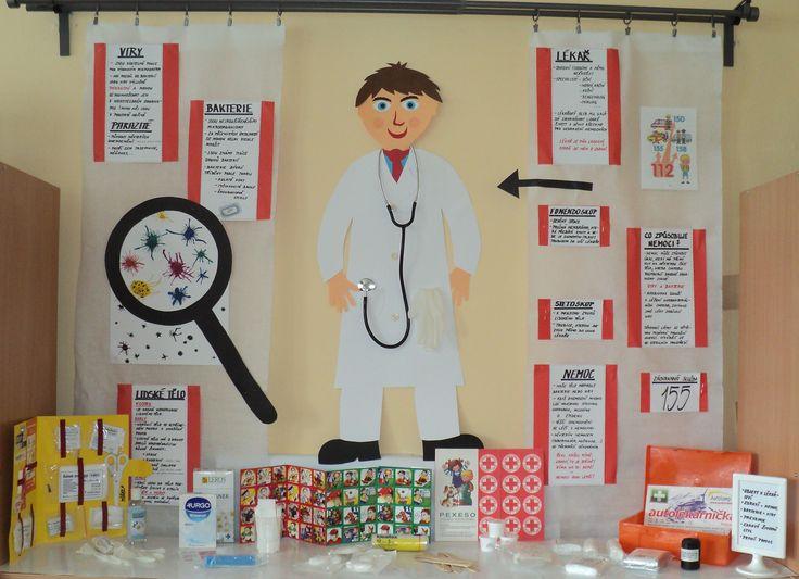 Zdraví -týden aktivit - objevy v medicíně, první pomoc, prevence, ...