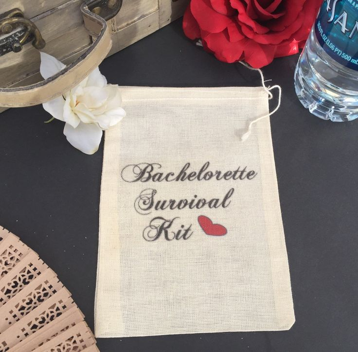 10 bachelorette survival kit drawstring bags, bachelorette party favor bags, bachelorette hangover kits, hen party, bachelorette ideas