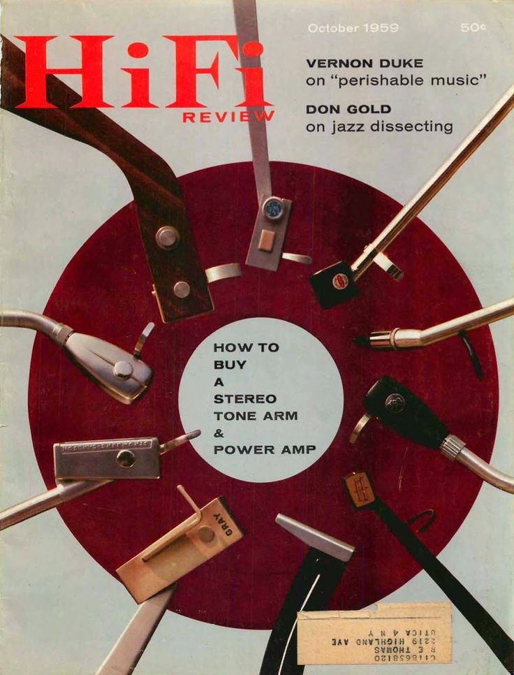 retro vintage modern hi-fi: How To Buy A Stereo Tone Arm - HiFi Review 1959