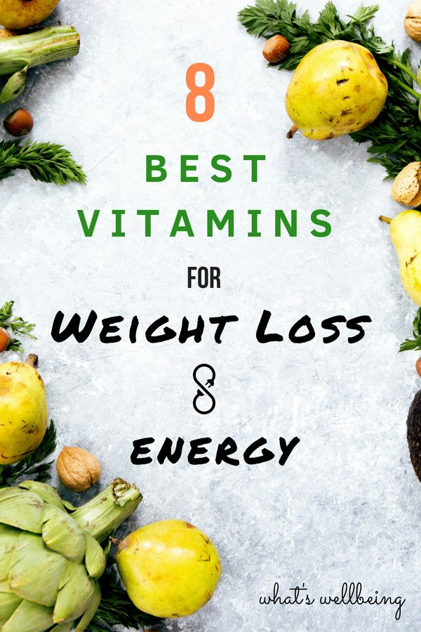 8 Best Vitamins for Weight Loss and Energy