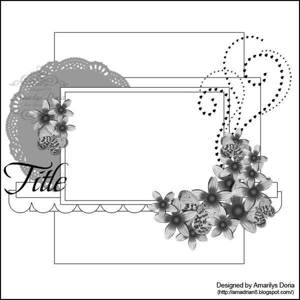 Скетчи для открыток скрапбукинг с пояснениями