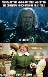 Christmas humour - Buddy the Elf