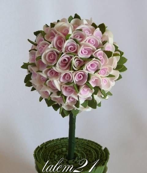 Цветы из фома | Записи в рубрике Цветы из фома | : LiveInternet - Российский Сервис Онлайн-Дневников