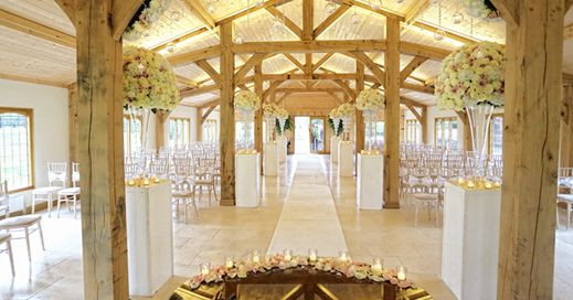 The Ceremony In The Stables - Wedding venue Cheshire - Colshaw Hall